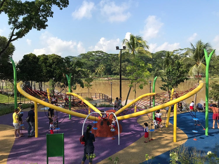 Free Outdoor Playgrounds in the North - Marsiling Park