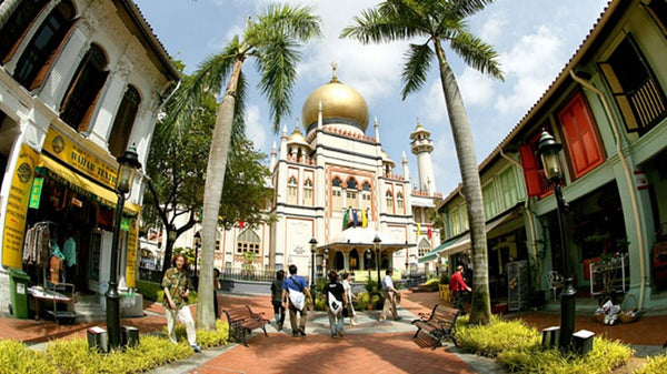 Pay the Impressive Building of Masjid Sultan A Visit