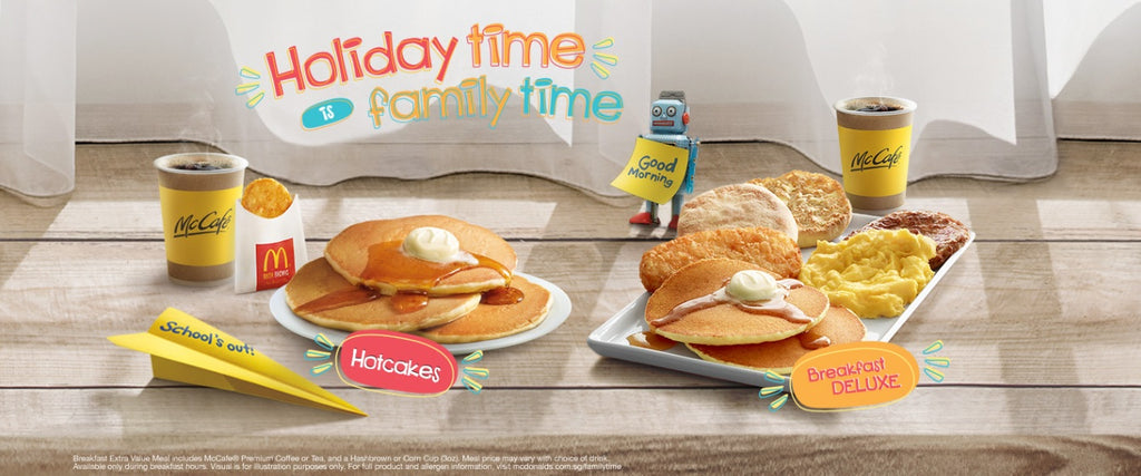 Free Macdonald's Breakfast on Father's Day Weekend