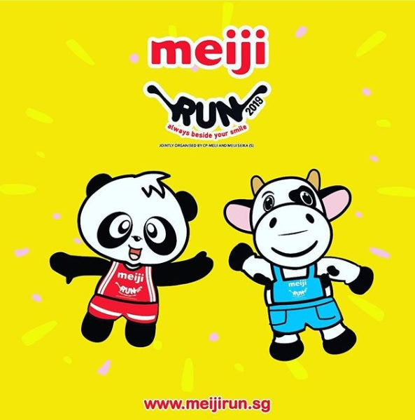 Take Part in the Delicious Meiji Run with Your Tots!