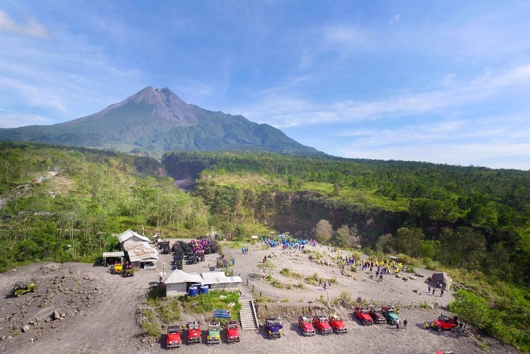 Merapi Lava Tour – Indonesia