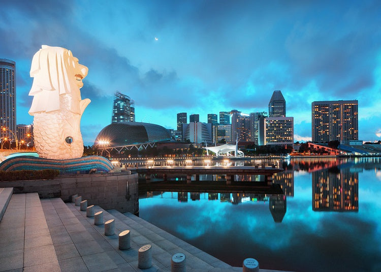 Best Places to Catch New Year's Fireworks for Free - Merlion Park