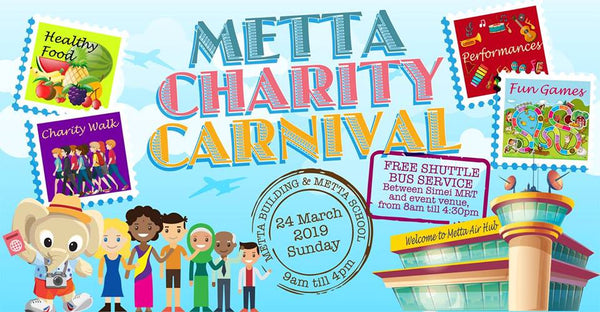 Make Merry for a Great Cause at the Metta Charity Carnival!