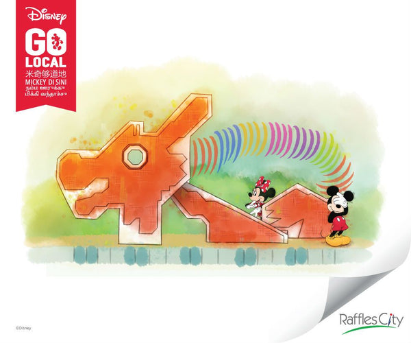 "Visit the ""Mickey Go Local"" Exhibit at Raffles City with Your Little Ones!"