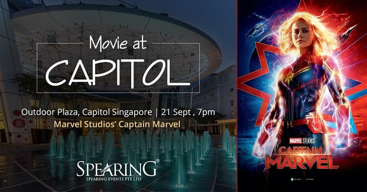 Catch a Movie Under the Starry Night Sky at Capitol!