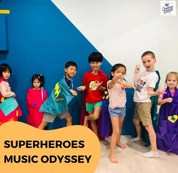 Music Holiday Camp_Superheroes Music Odyssey by Creative Hearts