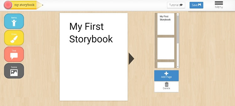 MyStorybook – Make Kids' Books Online for Free