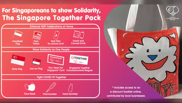 NDP2020 Singapore Together Pack