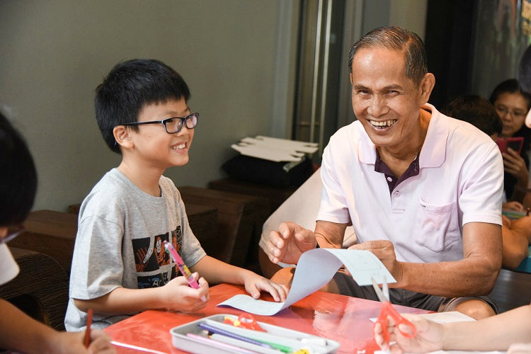 Grandparents' Day at National Museum of Singapore