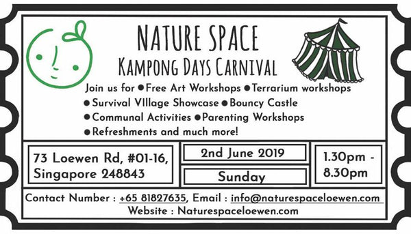 Join in the Merrymaking at Nature Space Kampong Days Carnival!