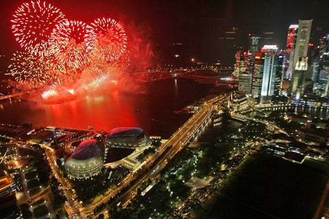 Things to do this Weekend: Top 6 Places to Watch New Year's Fireworks with you LOs! - Esplanade Waterfront