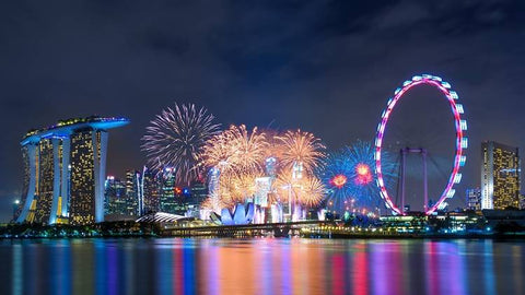 Things to do this Weekend: Top 6 Places to Watch New Year's Fireworks with you LOs! - Bay East Gardens by the Bay