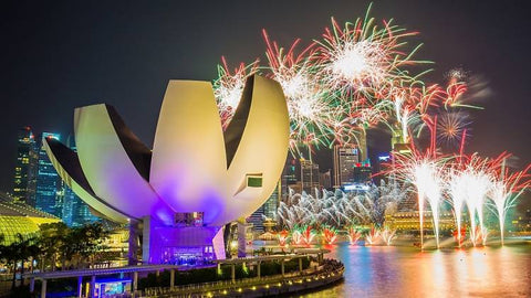 Things to do this Weekend: Top 6 Places to Watch New Year's Fireworks with you LOs! - Helix Bridge