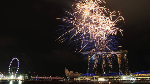 Things to do this Weekend: Top 6 Places to Watch New Year's Fireworks with you LOs! - Marina Bay Sands Event Plaza