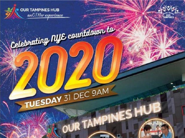 New Year's Countdown at Our Tampines Hub
