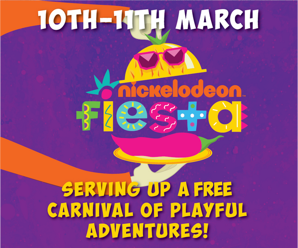 Things to do this Weekend: Be Part of the Singapore Festival of Fun 2018 with Your LOs @ Clarke Quay! - Nickelodeon Fiesta