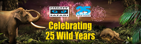 Night Safari Turns 25 Years