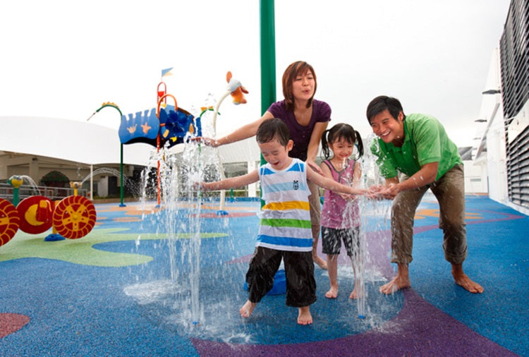 Northpoint City | Dry + Wet Play Areas