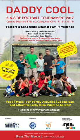 Things to do this Weekend: Daddy Cool 6-a-side Football Tournament