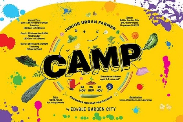 November Camp Junior Urban Farmer