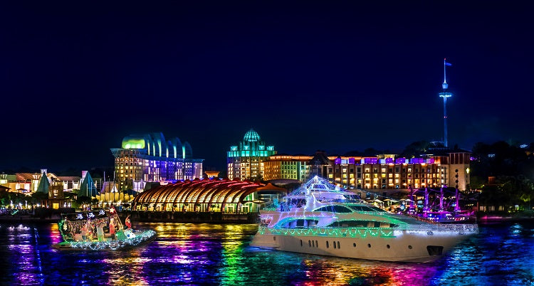 Year-End Holidays 2019: ONE15 Christmas Boat Light Parade™ & Sentosa Cove Holiday Market