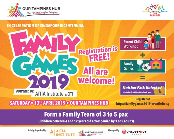 Pop into Our Tampines Hub with Your Tots for a Day of Fun & Games!