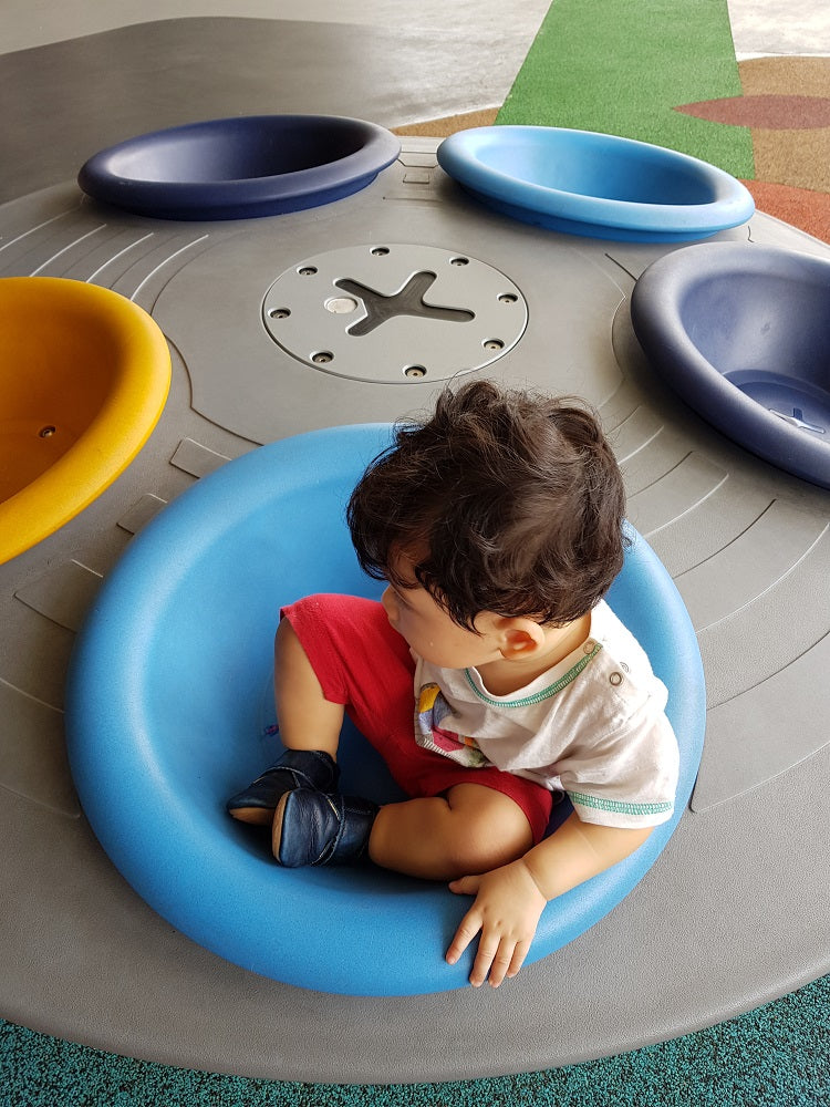 Free Outdoor Playgrounds in the East - Our Tampines Hub Inclusive Playground