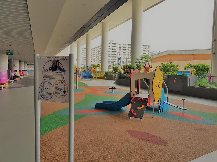Inclusive Playgrounds in Singapore - Our Tampines Hub