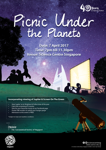 Science Centre Picnic Under the Stars
