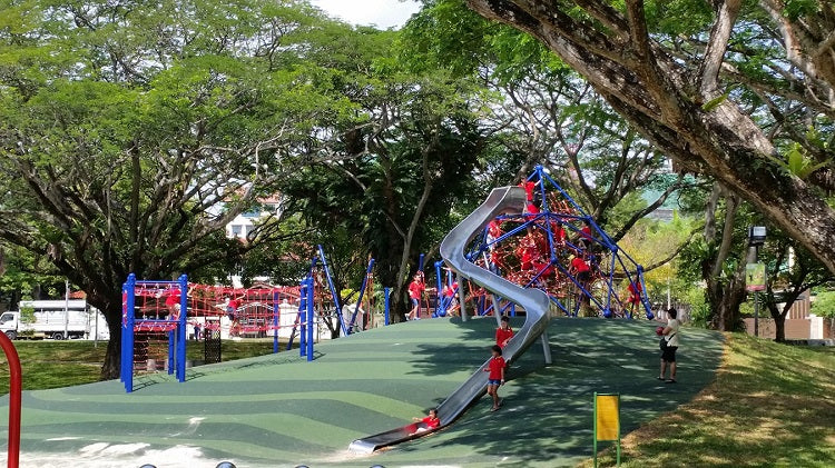 Inclusive Playgrounds in Singapore - Pasir Ris Park