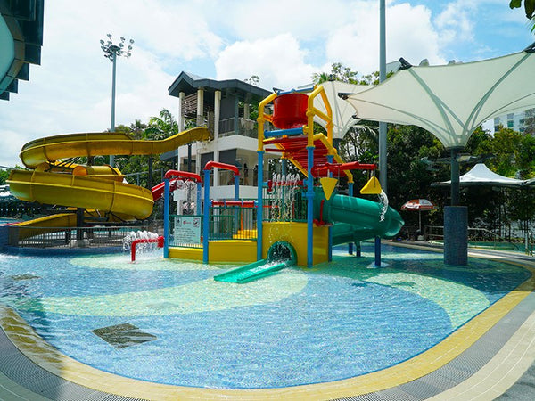 6 Best Places to Indulge in Water Play with Little Ones in Singapore - Pasir Ris Swimming Complex