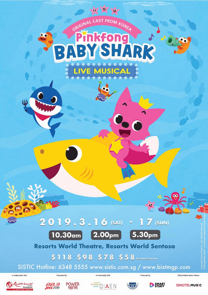 Pinkfong and Baby Shark March 2019