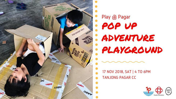 Check Out the Adventure Playground that has Popped-up at Tanjong Pagar Community Club!