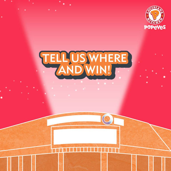 Popeyes Singapore Giveaway