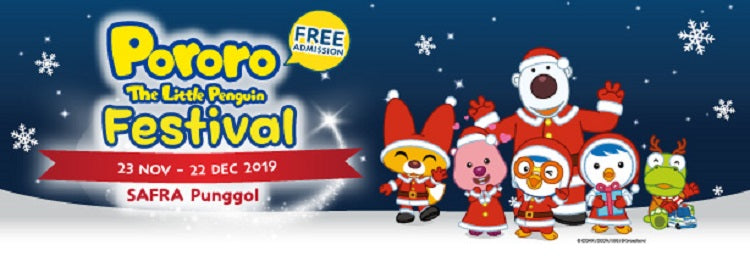 Pororo The Little Penguin Festival | SAFRA Punggol