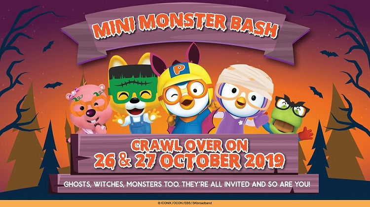 Kids-friendly Halloween Events - Pororo's Mini Monster Bash