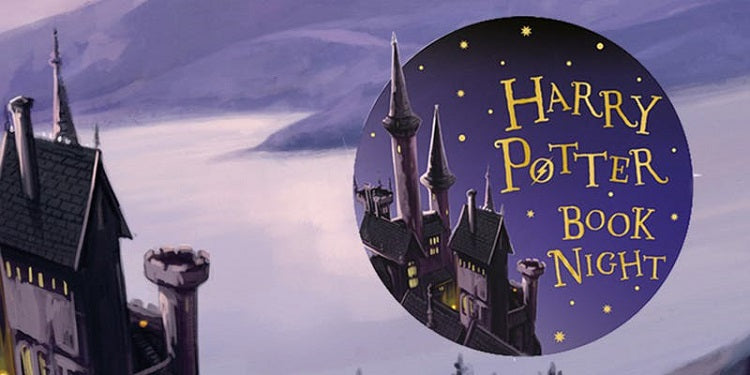 Experience Magic at The Harry Potter Book Night!