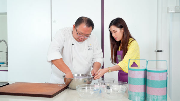 In the Kitchen with Chef Eric Neo: Pulot Hitam Snowskin Mooncake