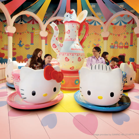 4 Things To Do with Your Little Ones at Puteri Harbour - Sanrio Hello Kitty Town