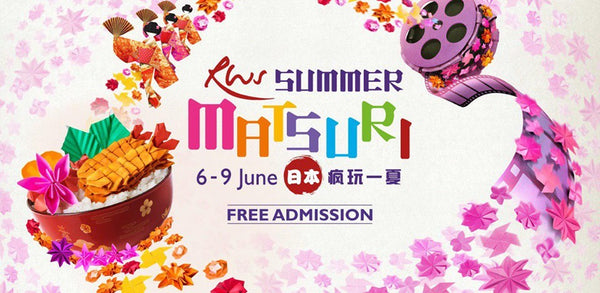 Get Festive with Your Little Ones at the RWS Summer Matsuri!
