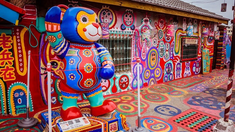 6 Places in Taichung to Visit with Your Family - Rainbow Village