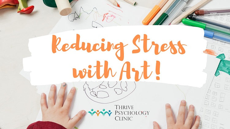 Reducing Stress with Art Sessions for Kids