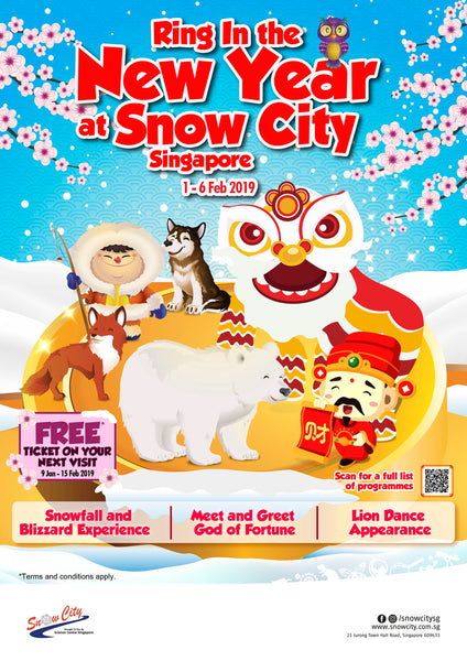 Ring In the New Year at Snow City Singapore!