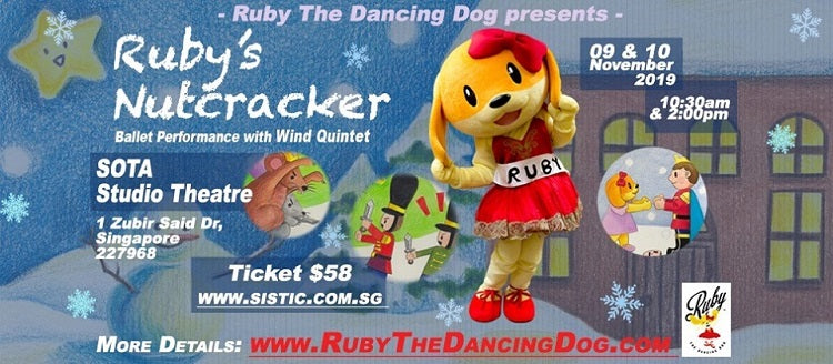 Year-End Holidays 2019 - Ruby's Nutcracker