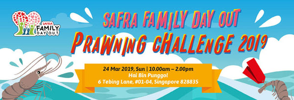 SAFRA Family Day Out Prawning Challenge 2019