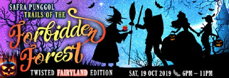 Kids-friendly Halloween Events - SAFRA Punggol Trails of the Forbidden Forest