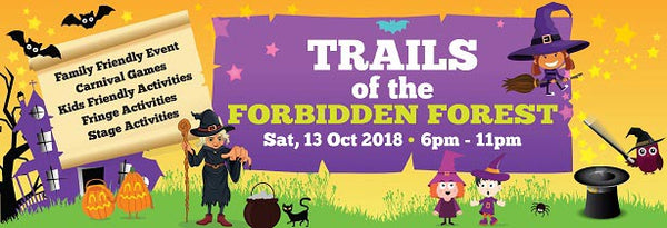 SAFRA Punggol's Trails Of The Forbidden Forest