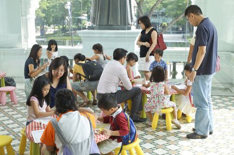 Top 5 Kids Events to Bring your LOs to For Singapore Art Week! - SAW