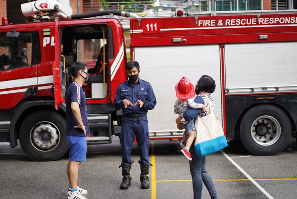 SCDF Fire Station Openhouse