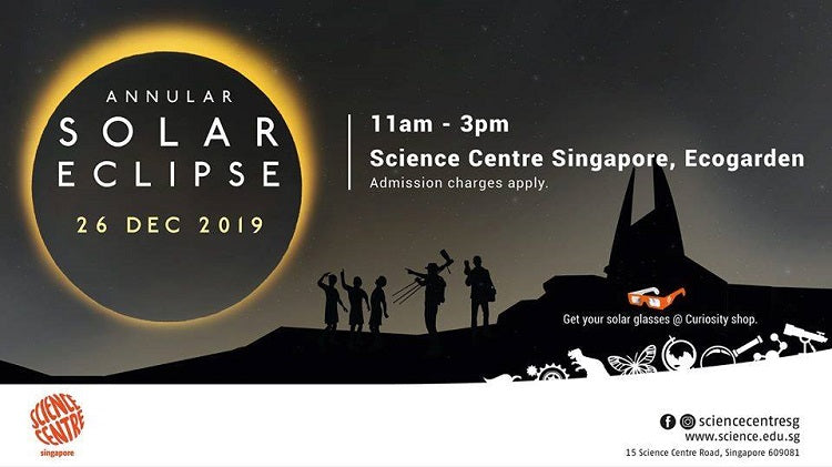 Annular Solar Eclipse at Science Centre Singapore